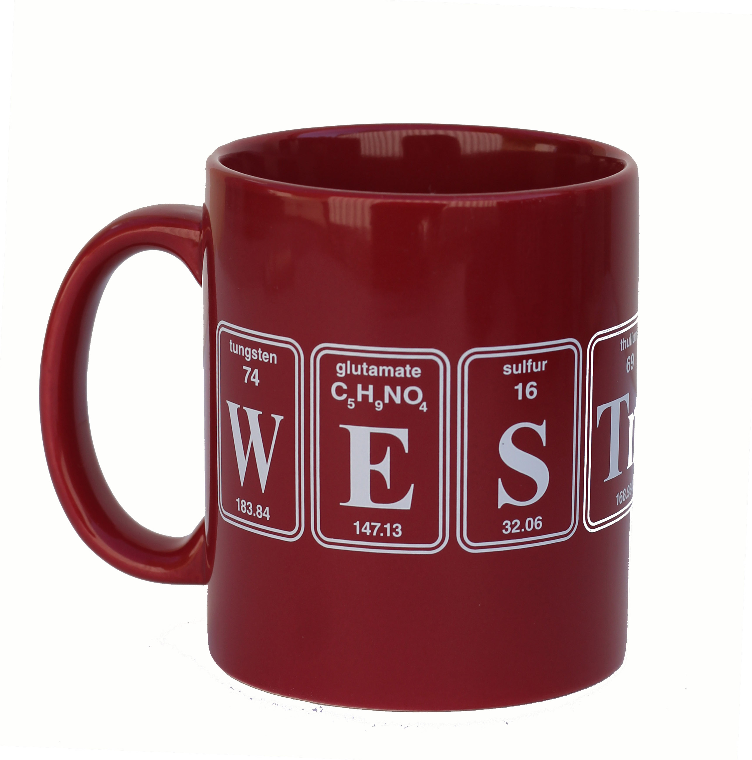 Image for the Westmont Crimson Element Mug product