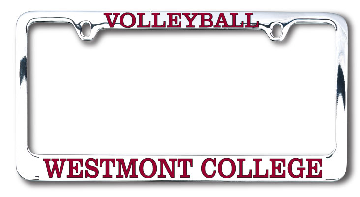 Image for the Volleyball Westmont License Plate Frame product