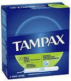 Image for the Tampax Cardboard Applicator Tampons, Super Absorbency, Unscented, 20 Count  product