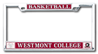 Image for the Basketball License Plate Frame w/seal & warriors logo product