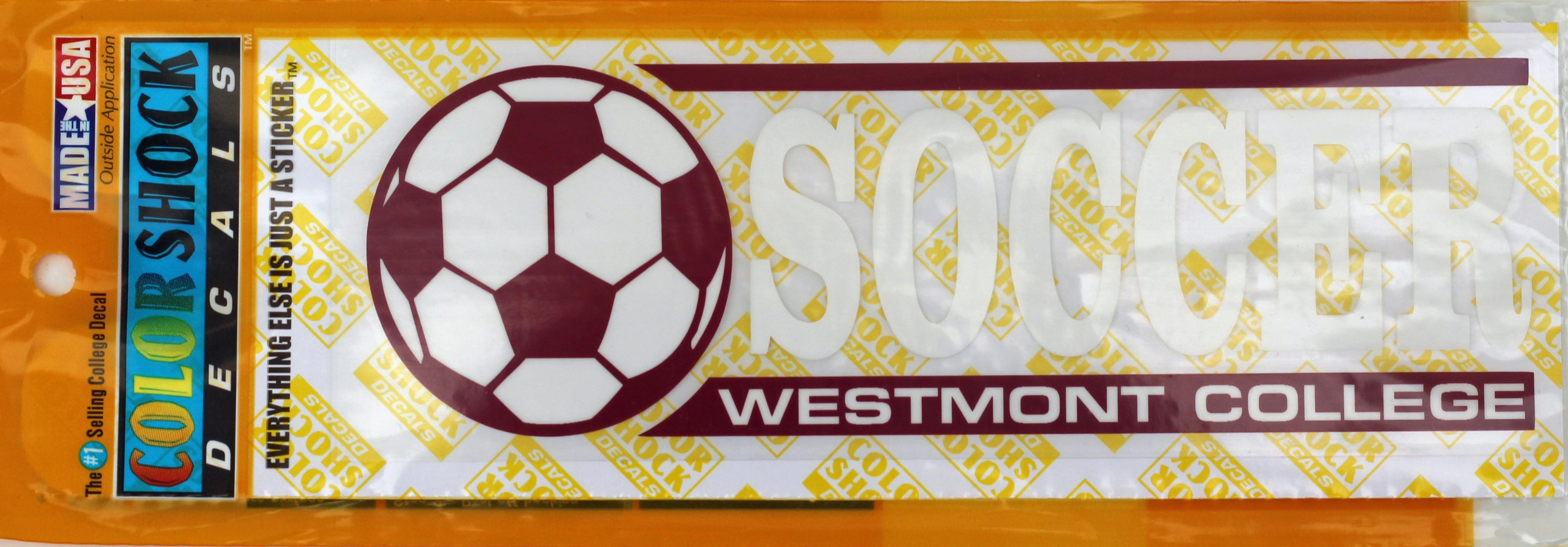 Image for the Color Shock Soccer Decal product