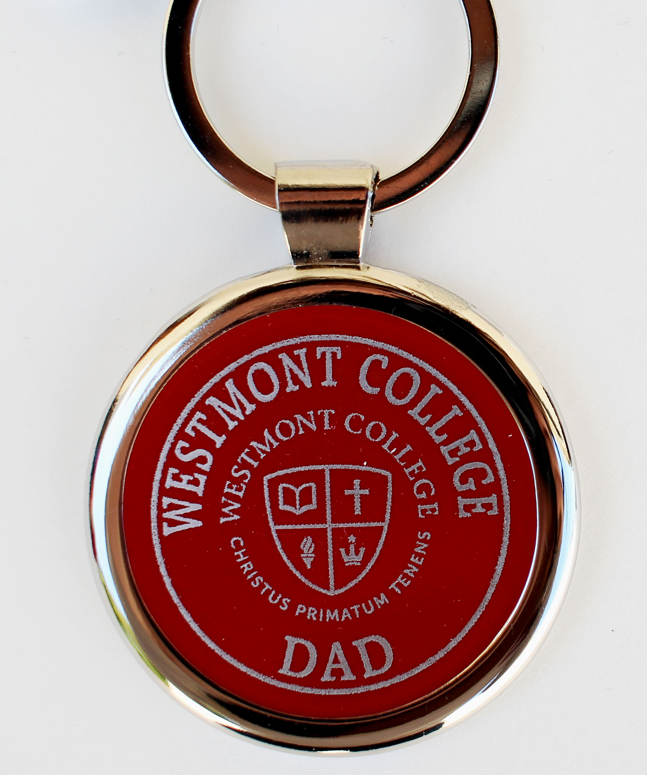 Image for the Spirit Round Dad Keychain product