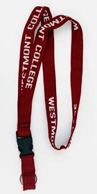 Image for the Maroon Westmont College Lanyard product