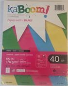 Image for the RS Kaboom Shock Cardstock 8.5x11 40 Sheets product