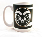 Image for the Ram Logo Colorado State Colormax Namedrop Mugs product