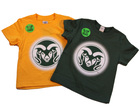 Image for the Glow In The Dark Ram Logo Toddler Tee product