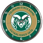 Image for the Colorado State Chrome Wall Clock product