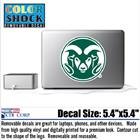 "Image for the REMOVABLE RAM HEAD DECAL - 5 1/2"" product"