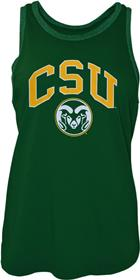 Image for the CSU RAMS BLAIR LADIES TANK- GREEN/GREY product