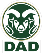 Image for the DAD RAM LOGO MAGNET product