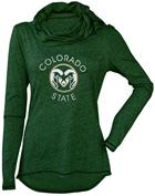 Image for the JEWEL COWL NECK LADIES COLORADO STATE LONG SLEEVE product