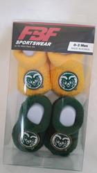 Image for the Ram Logo Baby Bootie Sets product